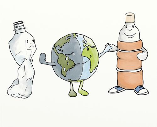 Öko palack újrahasznosítási pályázat